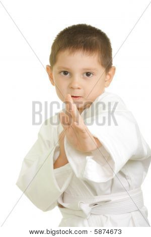 Little Karate Boy