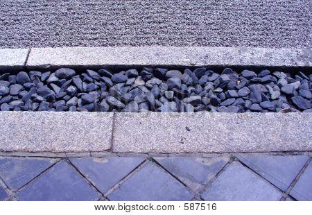 Japanese Zen Rock Textures