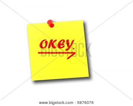 Note Okey