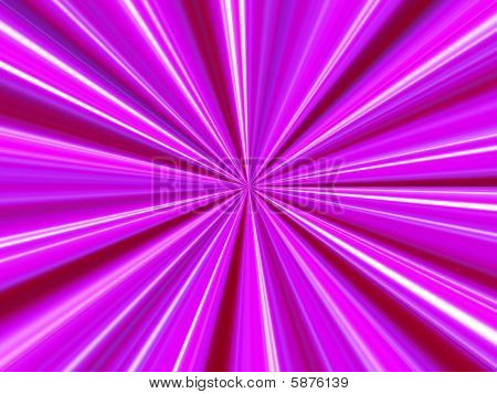 Pink Ray Background