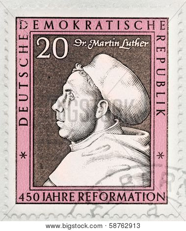 Martin Luther Stamp