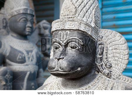 Hanuman Monkey God Statue