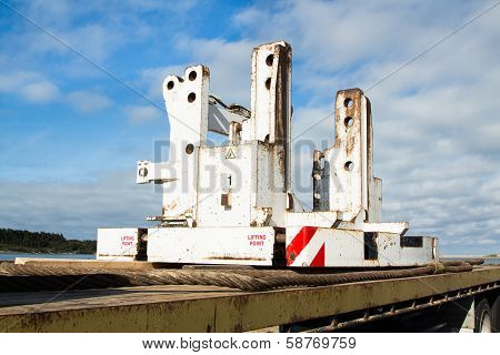 Crane Counterweight Base