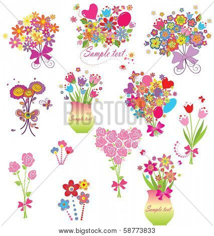 Funny greeting bouquets