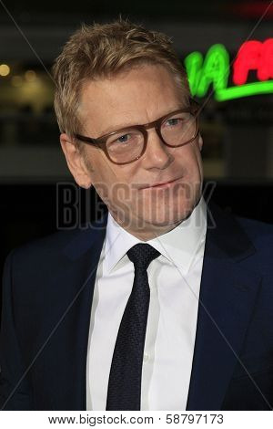 LOS ANGELES - JAN 15: Kenneth Branagh at the premiere of Paramount Pictures' 'Jack Ryan: Shadow Recruit' at TCL Chinese Theater on January 15, 2014 in Los Angeles, CA