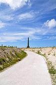 Cap Blanc Nez in France, Europe on a sunny day poster