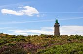 Cap Frehel in France, Europe on a sunny day poster