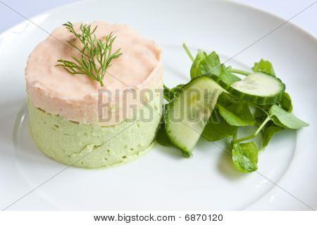 Salmon & Avocado Mousse