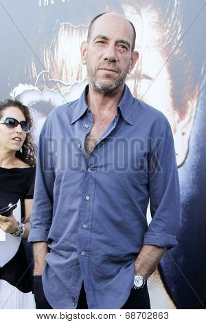 LOS ANGELES - JUL 16:  Miguel Ferrer at the 'Twin Peaks - The Entire Mystery' Blu-Ray/DVD Release Party And Screening at the Vista Theater on July 16, 2014 in Los Angeles, CA