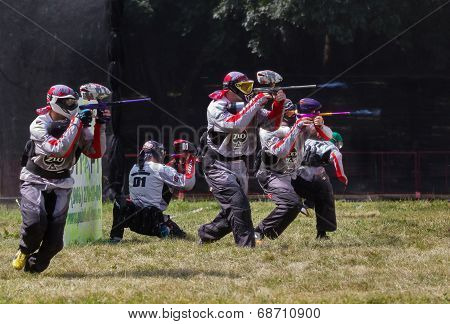 Competition Paintball.