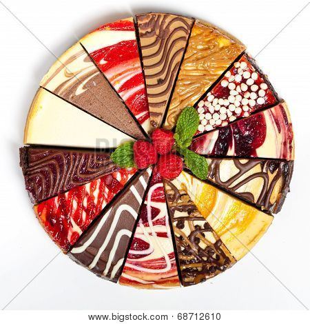 Gourmet Sampler Cheesecake