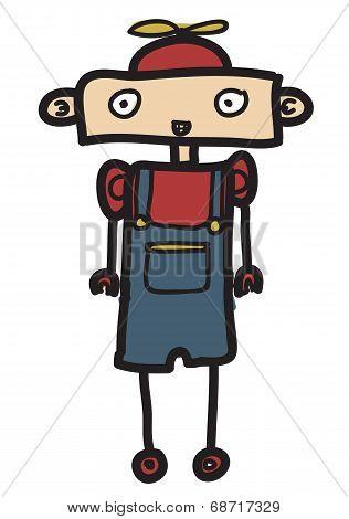 little boy robot