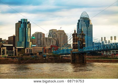 Cincinnati Downtown Overview