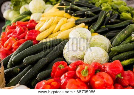 Fresh Produce Peppers