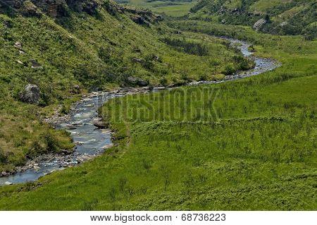 The Bushmans River in Giants Castle