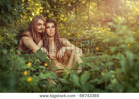 Wild Men In The Bushes.