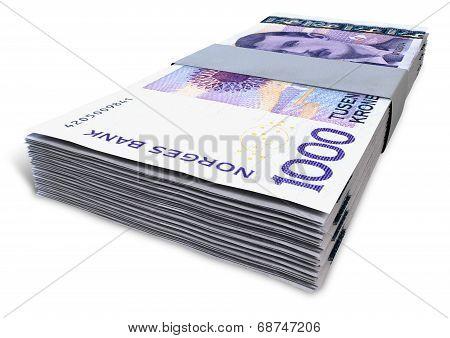 Norwegian Krone Notes Bundles