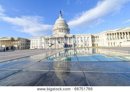 The Capitol East facade - Washington DC, United States of America