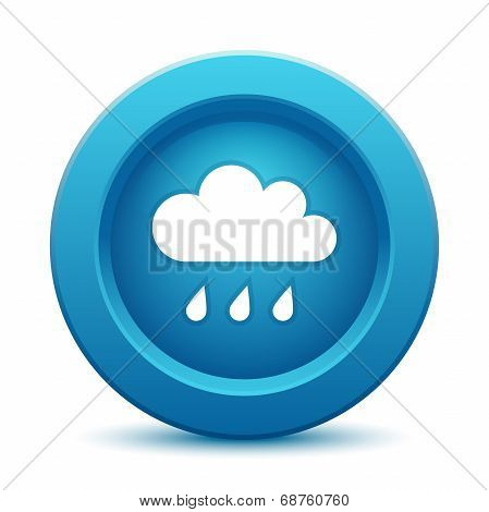 Cloud blue button