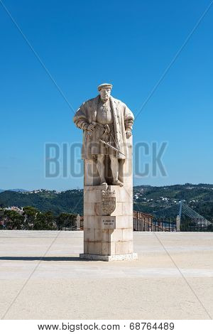 Statue Of King Joao Iii Of Portugal, Coimbra (portugal)