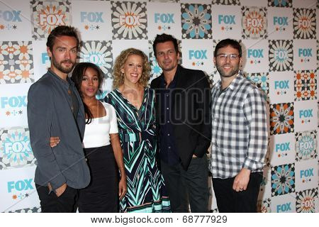 LOS ANGELES - JUL 20:  Sleepy Hollow Cast and Producers:  Tom Mison, Nicole Beharie, Heather Kadin, Len WIseman, Mark Goffman at the FOX TCA Party at the Soho House on July 20, 2014 in W Hollywood, CA