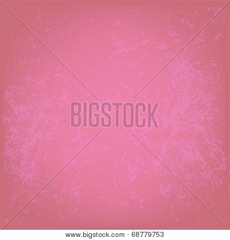 Grunge pink wall background