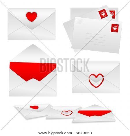 Envelopes  - Love