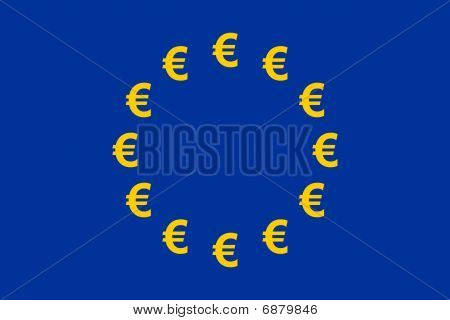 Euro Currency Flag