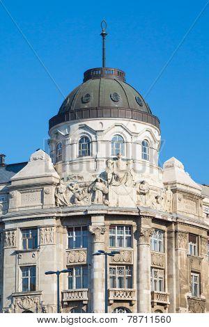 The Gresham palace in Budapest