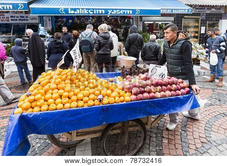 Wheelbarrow Fruits Vegetables