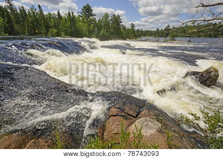 Dramatic Falls In The Wilderness