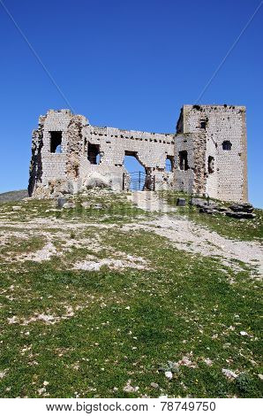 Teba castle ruin.
