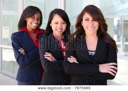 Diverse Business Woman Team