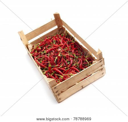 Crate Of Chili