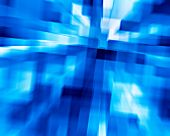 3d background from high speed motion blurred cubes poster