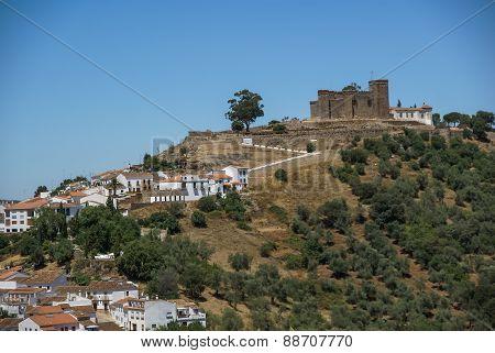 Monastery At Cortegana, Huelva, Andalusia, Spain