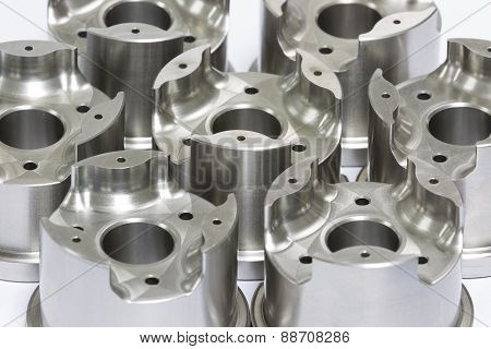 mold and die parts machining by high precision CNC machining poster