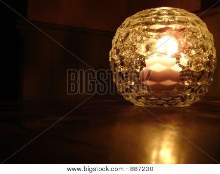 illuminous Crystal Kerze