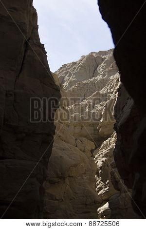 Desert Formations At Anza Borrego
