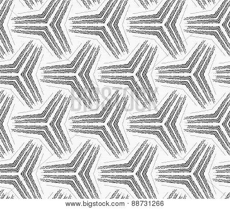 Monochrome Rough Striped Small Tetrapods