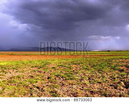 Storm Clouds Over Lake Manyara
