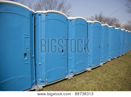 Portable Outdoor Toilets