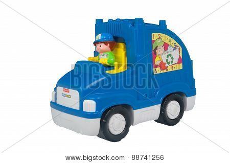 Fisher Price Recycling Truck
