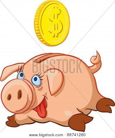 happy Pig Piggy Bank