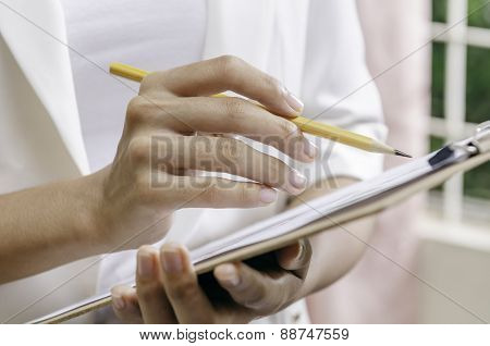 checking document