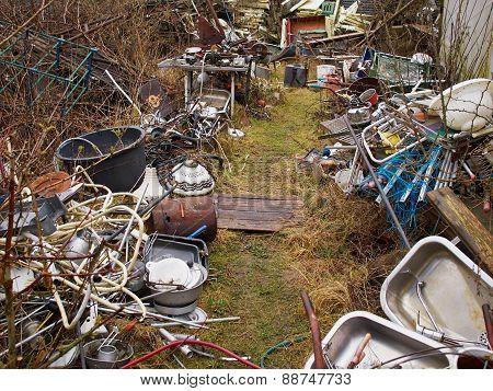Scrap Metal Junk Garbage