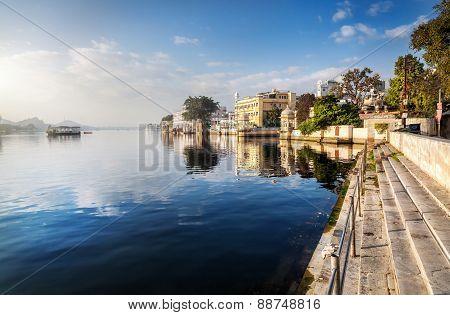 Lake Pichola In India