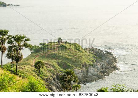 Scenery of Phromthep Cape