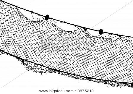 Fishing Net Bw