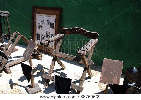 Medieval Torture chair, Barbate.